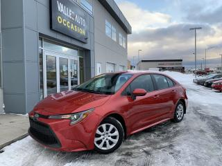 Used 2020 Toyota Corolla LE CVT for sale in St-Georges, QC