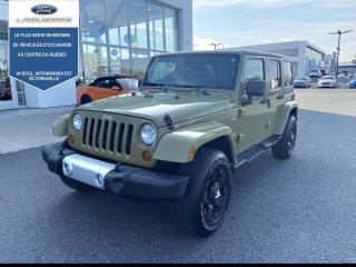 Used 2013 Jeep Wrangler Awd Sahara 2 Toit for sale in Victoriaville, QC
