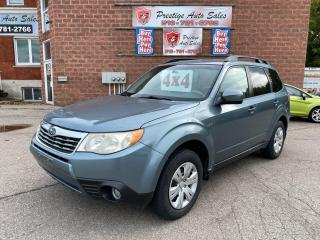 Used 2010 Subaru Forester 2.5X Sport/AWD/NO ACCIDENTS/SAFETY+WARRANTY INCL for sale in Cambridge, ON