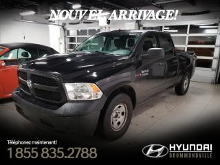 Used 2016 RAM 1500 TRADESMAN + GARANIE + CUIR  + A/C + CRUI for sale in Drummondville, QC
