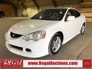 Used 2004 Acura RSX PREMIUM 2D COUPE for sale in Calgary, AB