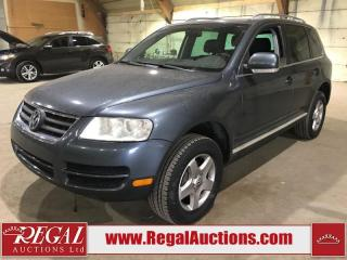 Used 2007 Volkswagen Touareg 4D Utility 4WD for sale in Calgary, AB