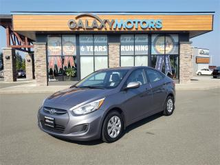 Used 2015 Hyundai Accent GL - Manual Trans Eco Mode USB for sale in Courtenay, BC