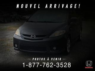 Used 2006 Mazda MAZDA5 GS + TOIT + A/C + CRUISE + WOW! for sale in St-Basile-le-Grand, QC