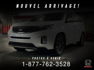 Used 2015 Kia Sorento SX + V6 + AWD + CUIR + TOIT + WOW! for sale in St-Basile-le-Grand, QC
