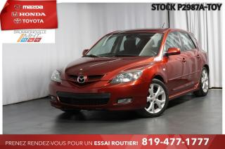 Used 2008 Mazda MAZDA3 Sport GT| MAGS 17| SPORT for sale in Drummondville, QC