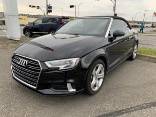 Used 2018 Audi A3 2.0 TFSI Komfort quattro for sale in Rivière-Du-Loup, QC
