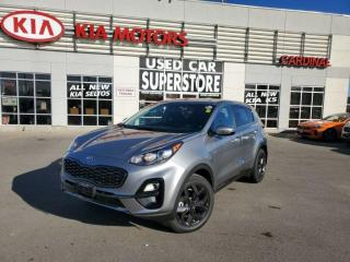 New 2021 Kia Sportage LX S AWD - Blind Spot Detection, Dark Chrome Trim for sale in Niagara Falls, ON