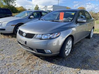 Used 2010 Kia Forte 4DR SDN AUTO SX for sale in Kingston, ON