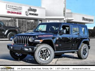New 2021 Jeep Wrangler UNLIMITED RUBICON | * LEASE FOR $147 PER WEEK for sale in Simcoe, ON