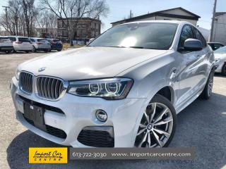 Used 2018 BMW X4 M40i ULTIMATE PACKAGE  LEATHER  ROOF  NAVI  BLIS for sale in Ottawa, ON