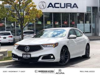 Used 2018 Acura TLX 2.4L P-AWS w/Tech Pkg A-Spec for sale in Markham, ON