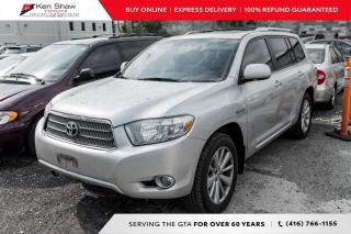 Used 2008 Toyota Highlander HYBRID for sale in Toronto, ON