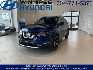 Used 2017 Nissan Rogue SL Platinum for sale in Winnipeg, MB