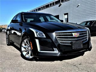Used 2017 Cadillac CTS Sedan AWD|PANORAMIC|COOLING SEATS|NAVI|WIRELESS CHARGING! for sale in Brampton, ON