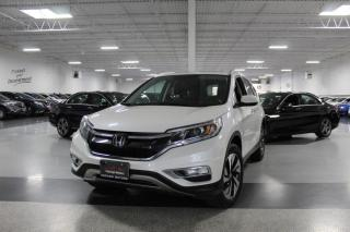 Used 2016 Honda CR-V TOURING AWD I NO ACCIDENTS I LEATHER I NAVIGATION I SUNROOF for sale in Mississauga, ON