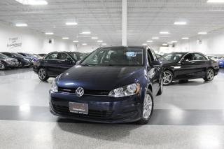Used 2016 Volkswagen Golf TSI I R. CAM I H. SEATS I KEYLESS ENTRY I POWER OPTIONS I BT for sale in Mississauga, ON