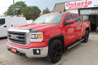 Used 2015 GMC Sierra 1500 SLE Z71 4WD Crew Cab 5.3LBack Camera Heated seats Bluetooth for sale in Mississauga, ON