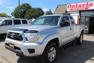Used 2013 Toyota Tacoma 4WD Access Cab Bluetooth Cruise step bars power options for sale in Mississauga, ON