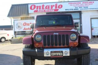 Used 2008 Jeep Wrangler 4WD 4dr Unlimited Sahara for sale in Mississauga, ON