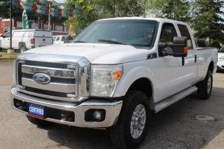 Used 2011 Ford F-350 Super Duty SRW FX4 XLT 4WD Crew Cab 8FT Long box for sale in Mississauga, ON