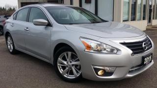 Used 2015 Nissan Altima 2.5 SV - BACK-UP CAM! SUNROOF! REMOTE START! for sale in Kitchener, ON