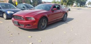 Used 2014 Ford Mustang 2dr Cpe V6 | Leather | Accident-Free | 2 Owner for sale in Concord, ON