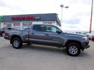 Used 2018 Toyota Tacoma SR5 Double Cab Super V6 4WD Camera Certified for sale in Milton, ON