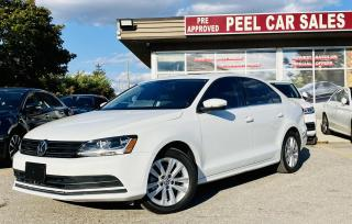 Used 2017 Volkswagen Jetta WOLFSBURG|TEXT.US|647.678.7778| SUNROOF|ALLOYS|REARVIEW| for sale in Mississauga, ON