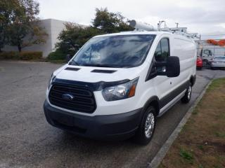 Used 2017 Ford Transit 250 Van Low Roof with Rear Shelving And Ladder Rack 130-in. WB for sale in Burnaby, BC