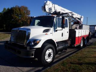 Used 2008 International 7500 Workstar Diesel Drill Truck with Air Brakes and Generator for sale in Burnaby, BC