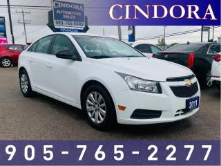 Used 2011 Chevrolet Cruze LS, Auto, Bluetooth for sale in Caledonia, ON