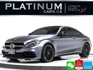 Used 2018 Mercedes-Benz C-Class AMG C63 S, 503HP, COUPE, AMG SEATS, MAGNO, NAV for sale in Toronto, ON