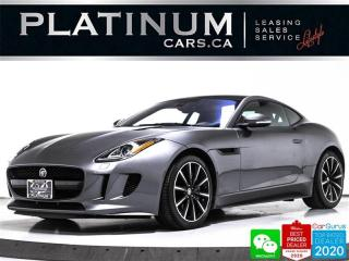 Used 2017 Jaguar F-Type Coupe, 340PS, NAV, CAM, PANO, KEYLESS, PUSH for sale in Toronto, ON