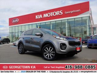 Used 2017 Kia Sportage EX TECH | AWD | NAV | ROOF | B/U CAM | 69,620 KM for sale in Georgetown, ON