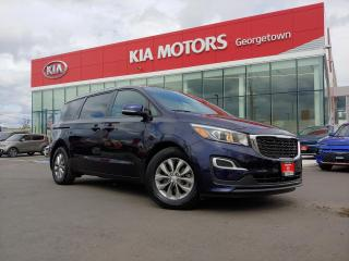 Used 2019 Kia Sedona LX | 8 PASS | B/UP CAM | BLUETOOTH | STOW N GO | for sale in Georgetown, ON