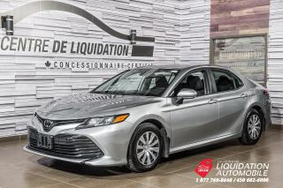 Used 2019 Toyota Camry LE+AIR+CAM/RECUL+GR/ELECT+BLUETOOTH for sale in Laval, QC