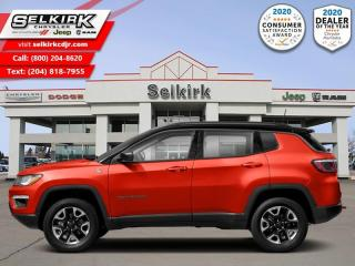 New 2021 Jeep Compass Trailhawk - Leather Seats for sale in Selkirk, MB
