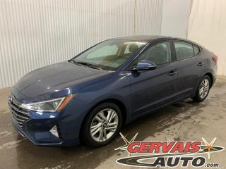 Used 2019 Hyundai Elantra Preferred Toit ouvrant Caméra Bluetooth Mags for sale in Trois-Rivières, QC