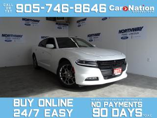 Used 2017 Dodge Charger SXT RALLYE | AWD | LEATHER | NAV | SUNROOF for sale in Brantford, ON
