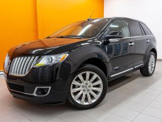 Used 2012 Lincoln MKX LIMITED SIÈGES CHAUFF / VENT CUIR TOIT PANO *NAV* for sale in St-Jérôme, QC