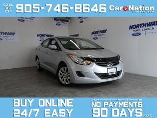 Used 2013 Hyundai Elantra GL | HEATED SEATS | BLUETOOTH | ONLY 58 KM! for sale in Brantford, ON