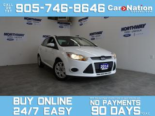 Used 2014 Ford Focus SE | HEATED SEATS | BLUETOOTH | SYNC | LOW KM! for sale in Brantford, ON