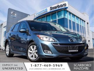 Used 2010 Mazda MAZDA3 AUTO|HATCKBACK|SUN ROOF|BLUETOOTH for sale in Scarborough, ON