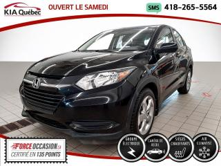 Used 2017 Honda HR-V ** LX ** A/C * CRUISE * SIEGES CHAUFFANT for sale in Québec, QC