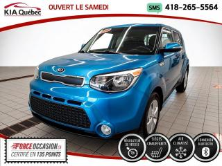 Used 2016 Kia Soul LX+* A/C* SIEGES CHAUFFANTS* BLUETOOTH* for sale in Québec, QC