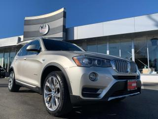 Used 2017 BMW X3 xDrive28i AWD LEATHER SUNROOF NAVI CAMERA for sale in Langley, BC