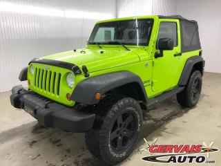 Used 2013 Jeep Wrangler SPORT 4X4 MAGS *BAS KILOMÉTRAGE* for sale in Shawinigan, QC