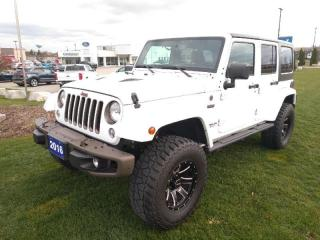 Used 2016 Jeep Wrangler Unlimited 75th Anniversary for sale in New Hamburg, ON