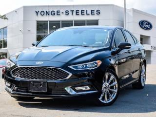 Used 2017 Ford Fusion PLATINUM for sale in Thornhill, ON